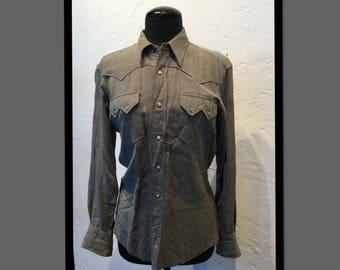 Vintage 1950s Miller western shirt