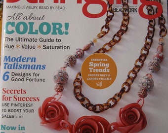 Stringing Magazine All About Color Modern Talismans Secrets for Success Spring Trends Spring 2016 Issue