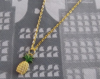 Necklace with Pineapple Pendant