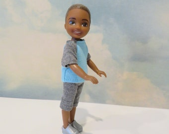 CHELSEA BOY Gray Long Shorts Outfit