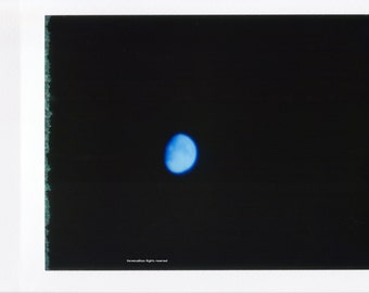 Moon      Art pinhole photographs