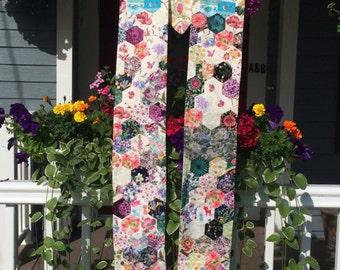 Hexagon Flower Garden Clergy Stole