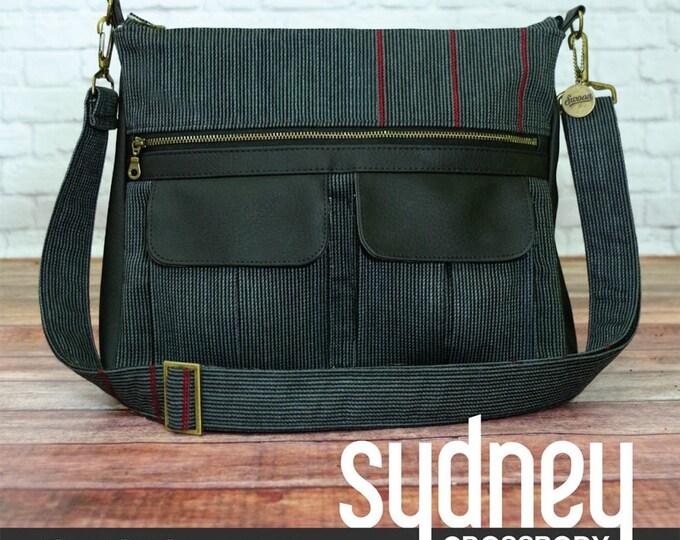 Sydney Crossbody - Swoon Patterns - Bag Pattern