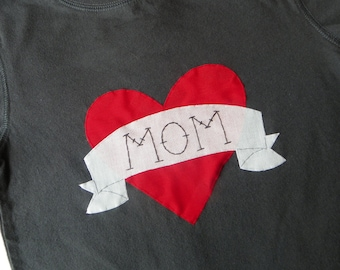 "Boys ""MOM"" Tattoo Shirt"
