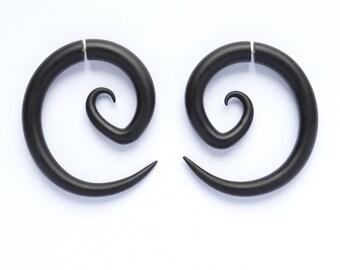 Fake Gauges Real Gauges Tribal Earrings Anime Boho Taper Hanger 2g 1g 0g 00g 000g 7/16 0000g 1/2 9/16 5/8