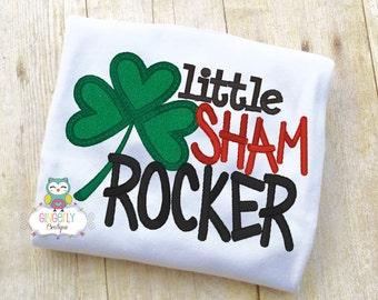 Boy Shamrock St Patricks Day Shirt or Bodysuit, St Patricks Day Shirt, St Patty's Day Shirt, Boy St Patricks Day, Boy Shamrock Shirt