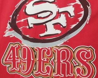 Vintage 49ers Tee Shirt 1990s
