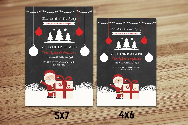 Atemberaubend Weihnachten Flyer Kostenlose Vorlage Zeitgenössisch ...