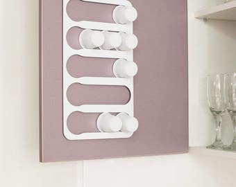 Abacus Pod Rack, a kitchen accessory that holds and dispenses your Kuerig K-cup coffee capsules KW15