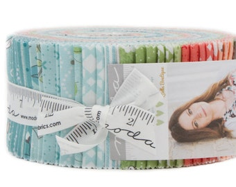 """New! Nest - Jelly Roll - (40) 2.5"""" strips - Lella Boutique - MODA - Quilting/Sewing Fabric"""