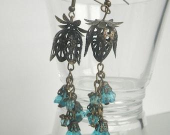 Bellflower - earrings vintage style Alice