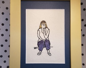Handmade embroidery - The think-tress