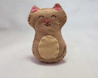 Sleepy Kitty Baby Rattle