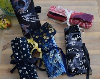 Custom order with YOUR fabrics : 8 slot penroll