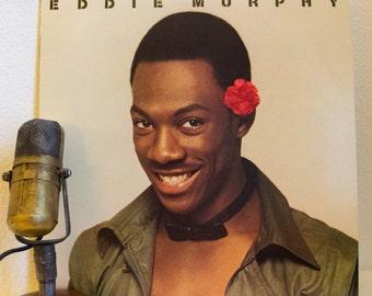 "Eddie Murphy ""Comedian: Live"" Vinyl Record Album 1980s Standup (Original 1982 Cbs Records w/ ""Buckwheat"" & ""Drinking Fathers"")"