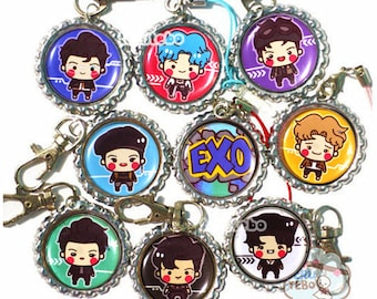 EXO POWER exo phone straps / charm / plugs / keychains / accessories / exo chibis / Power mv