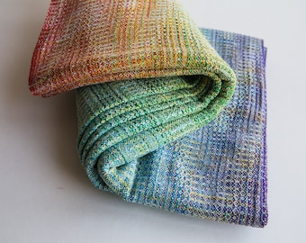 Renata with hand dyed weft
