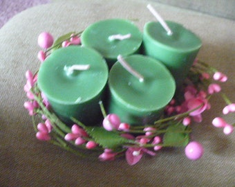 Hand Poured Catnip Infused Scented Cream Wax Votive Candles, Cat Lovers, Crazy Cat Lady, Cat Items, Catnip, Scented Votive Candles