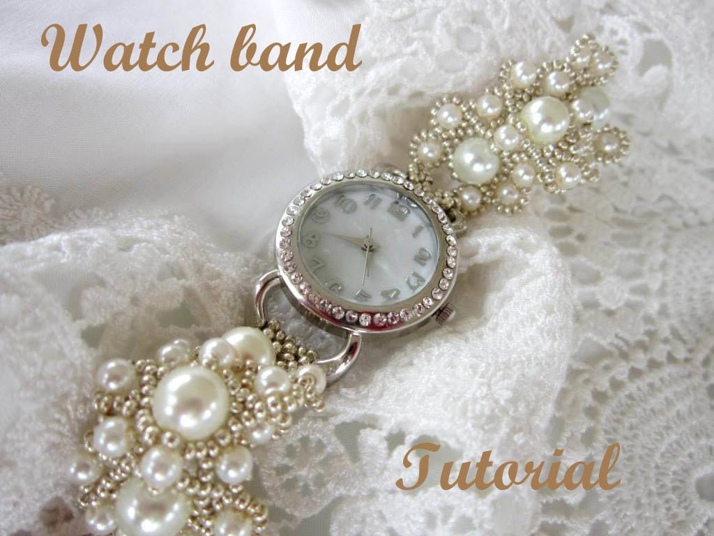 zoom beaded lace listing band tutorial watch russian bands pdf frosts fullxfull il seed