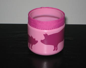 Pig and piglet pot