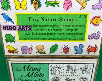 Rubber Stamps for Miniatures