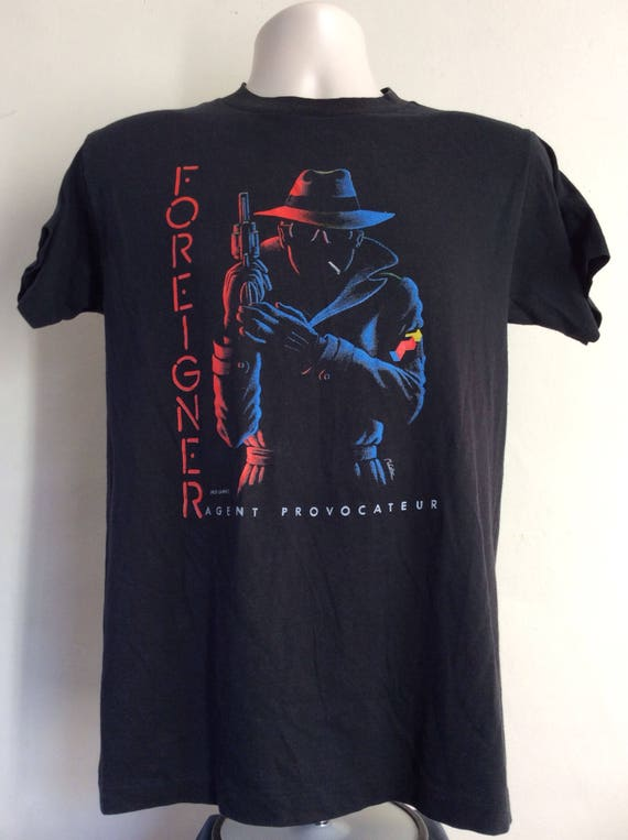 Vtg 1987 Robin Trower Passion Tour Concert T-Shirt Black M 80s Classic Rock Procol Harum ZJCfWam