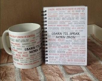 Northern Ireland Mug,  speak Norn iron,  NI gift