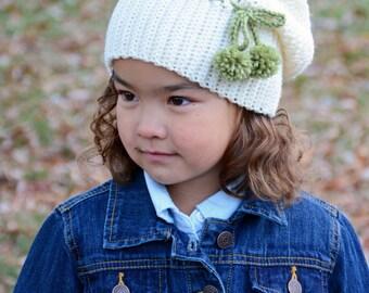 CROCHET PATTERN - It Girl Slouchy - crochet slouchy hat pattern, crochet hat pattern (Toddler, Child, Adult sizes) - Instant PDF Download