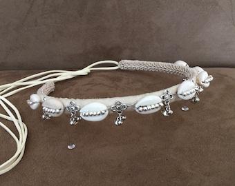 Silver Bell Kuchie Headband
