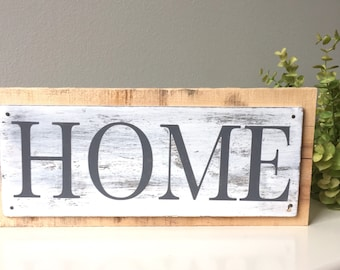 Home Pallet Sign, Rustic Home Sign