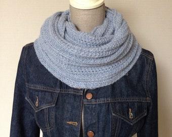 Unisex collar scarf/circle scarf-100% alpaca-hand Garments