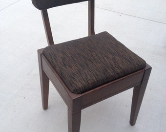 Mid-century modern Singer Sewing Chair With Storage