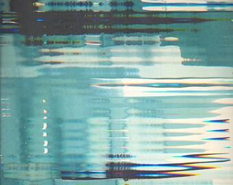 Water window I (2016)-artwork print on Dibond