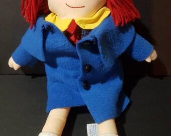 Madeline Rag doll by Eden toys