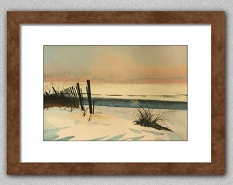 Original one of a kind watercolor painting.