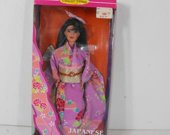 Japanese Barbie Dolls of the World Collectors Edition 1995  (1514)