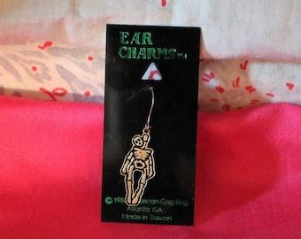 Vintage Skeleton Ear Charm