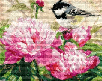 Cross Stitch Kit Flowers / Bouquet/ Cuisine/Birds