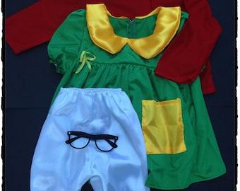 Inspired Chilindrina Halloween costume Chilindrina Kid Child Costume Cosplay - Chilindrina Inspired