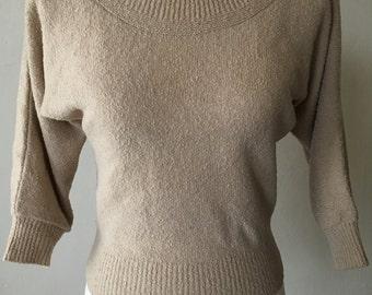 1950s Dolman Sleeve Sweater