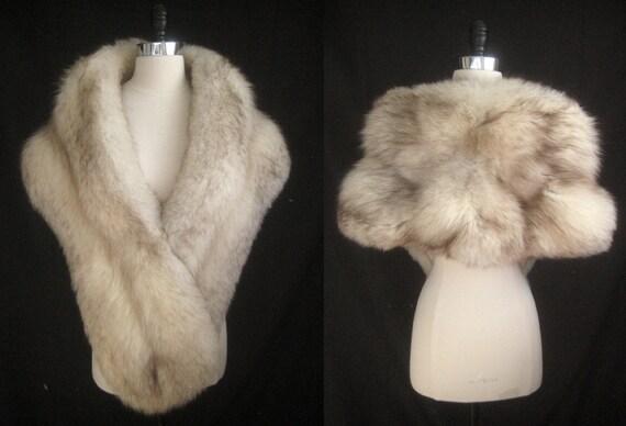 Jacket Shrug Bridal Brown WRAP Capelet ~ Luxe ~ FOX Cape ~ Coat Shawl White monogram Cream Fur No Wedding ~ Stole Luxury MARNI Winter Ivory wRwv7qU