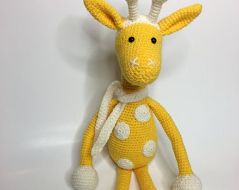 Giraffe amigurumi stuffed animal