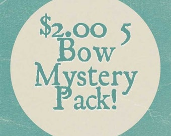 GREAT DEAL 5 Bow Mystery Pack