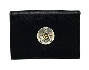 Mason Business Card Case – Metallic