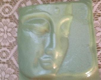 Celadon Green Buddha