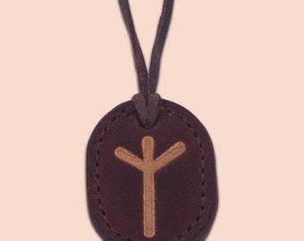 Rune Amulet Necklace - Algiz - FREE  Shipping Worldwide