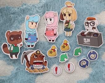 Animal Crossing Isabelle Sticker Set