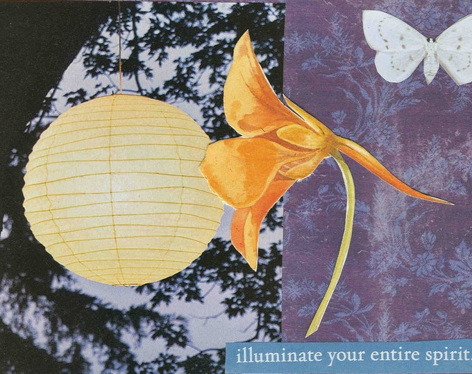 Illuminate Your Spirit greeting card