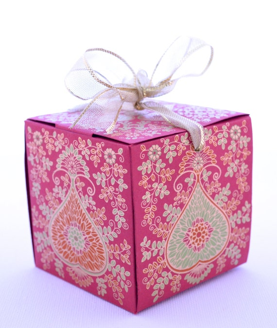 Gift box with ribbon wedding gift box indian wedding favor gift box with ribbon wedding gift box indian wedding favor party favor box eid gift box ramadan gift box party favor box eid decor negle