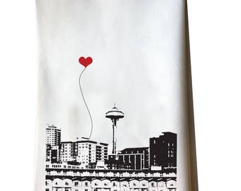 Seattle Space Needle Tea Towel